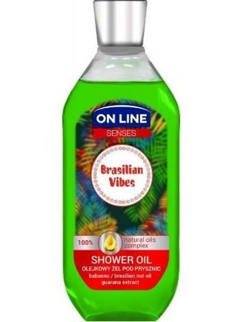 On Line Senses Olejkowy Żel pod prysznic Brasilian Vibes  500 ml