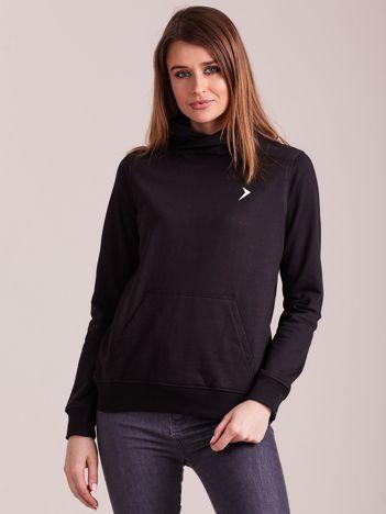 Outhorn Czarna bluza dresowa kangurka