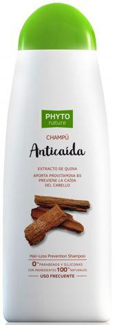 PHYTO NATURE Naturalny szampon przeciw wypadaniu włosów z chininą 400 ml