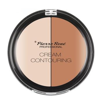 PIERRE RENE Paleta do modelowania konturu twarzy Cream Contouring