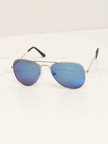 PILOTKI AVIATORY stylowe przeciwsłoneczne okulary dziecięce