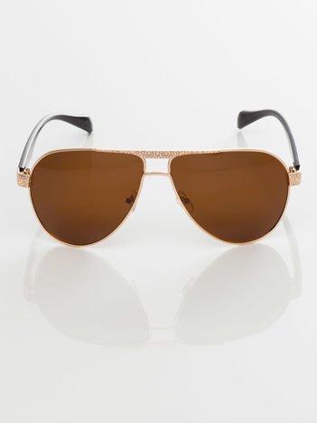 POLARYZACYJNE okulary przeciwsłoneczne pilotki  +GRATISY