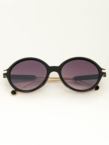 PREMIUM Damskie okulary przeciwsłoneczne ROUND