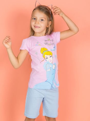 PRINCESS Różowa piżama dla dziewczynki