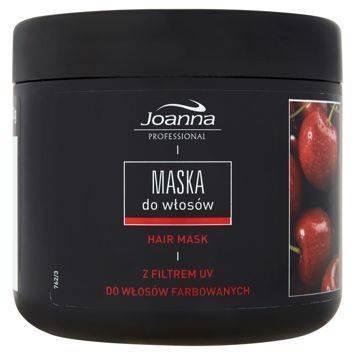 PROFESSIONAL  Maska do włosów farbowanych WIŚNIA 500g