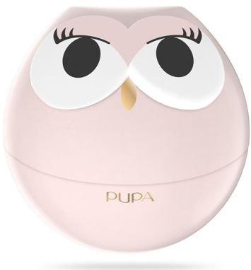 PUPA Owl Zestaw do makijażu ust - 3 pomadki i 2 błyszczyki 001 Pink Shades
