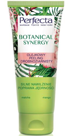 Perfecta Botanical Synergy Olejkowy Peeling drobnoziarnisty do ciała - Matcha i Mango 200 ml
