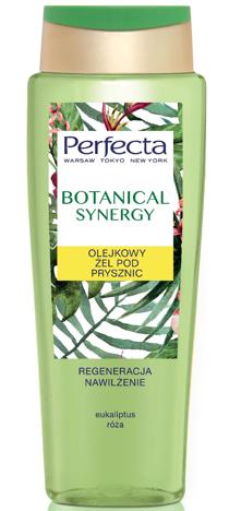 Perfecta Botanical Synergy Olejkowy Żel  pod prysznic - Eukaliptus i Róża 400 ml