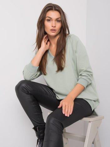 Pistacjowa bluza Sally RUE PARIS