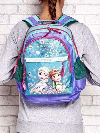 Plecak szkolny dla dziewczynki z nadrukiem FROZEN