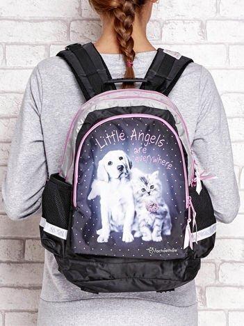 Plecak szkolny z nadrukiem zwierząt