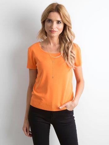 Pomarańczowa bluzka Seva