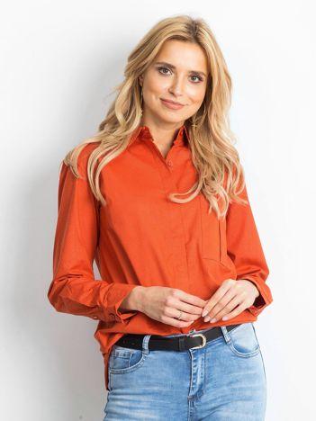 Pomarańczowa koszula Rudimentary