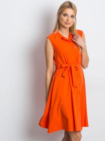 Pomarańczowa sukienka Masterclass