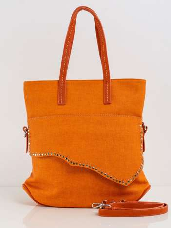 Pomarańczowa torebka damska