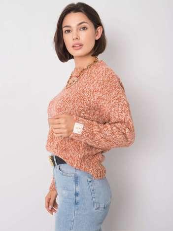 Pomarańczowy sweter Gwen RUE PARIS