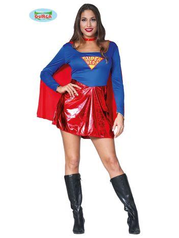 Przebranie na imprezę Superbohaterka