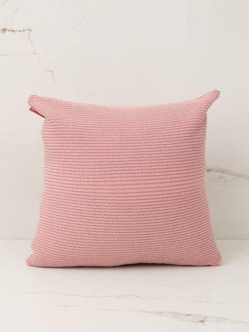 Pudroworóżowa poduszka dekoracyjna