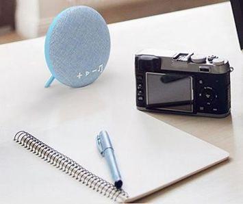Q-touch Mały i mocny świetnie wyglądający głośnik stereo bluetooth 4.2 Odtwarza muzykę 2,5h Kolor czarny