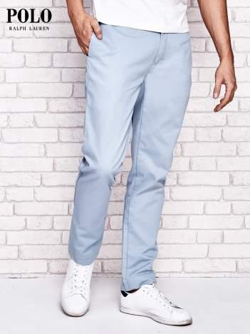 RALPH LAUREN Jasnoniebieskie spodnie męskie