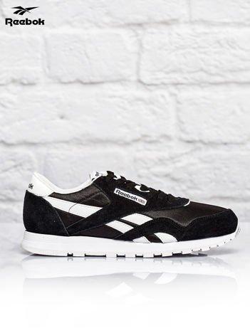 REEBOK Czarne buty sportowe Classic Nylon