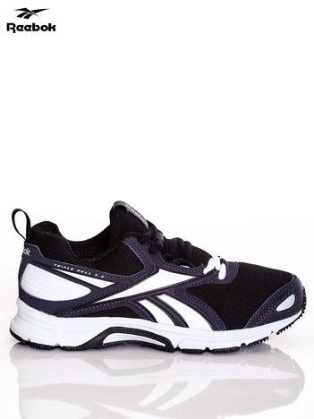 REEBOK Czarno-białe buty sportowe damskie TRIPLEHALL 5.0