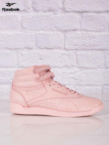 REEBOK Różowe buty sportowe damskie Freestyle Hi FBT