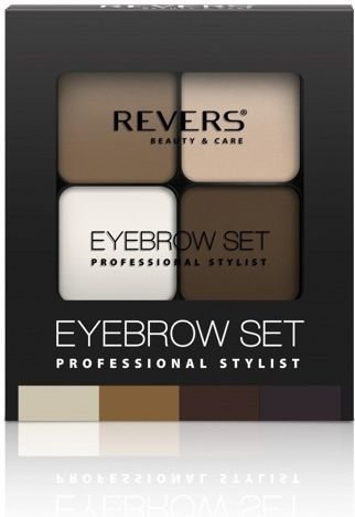 REVERS Cienie do brwi EYE BROW SET PROFESSIONAL STYLIST nr 01 18g