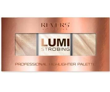 REVERS Lumi Strobing Professional Highlighter Palette Paleta rozświetlaczy 03 12,5 g