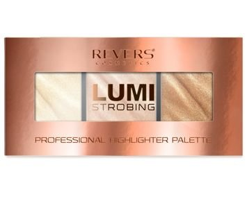 REVERS Lumi Strobing Professional Highlighter Palette Paleta rozświetlaczy 04 12,5g
