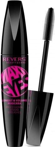 REVERS Maskara MAXI EYES Lenght & Volume Mascara stymulująca wzrost rzęs 10 ml