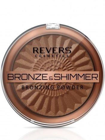 REVERS Puder BRONZE & SHIMMER nr 3, 9 g