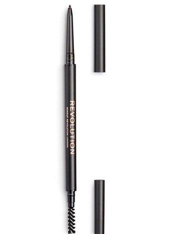 REVOLUTION Kredka do brwi Precise Brow Pencil Dark Brown
