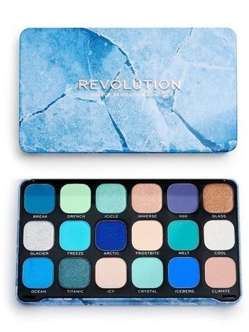REVOLUTION Paleta cieni Forever Flawless ICE 18 x 1,1 g