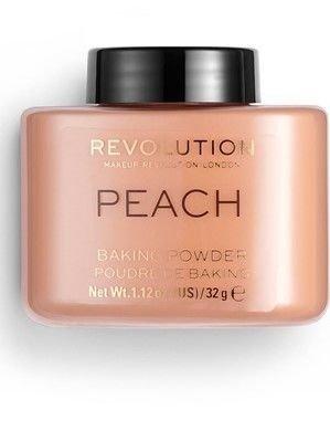 REVOLUTION Puder sypki Baking Powder Peach 32 g