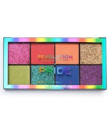 REVOLUTION X Pride Spirit Of Pride Shadow Palette Paleta cieni i prasowanych brokatów