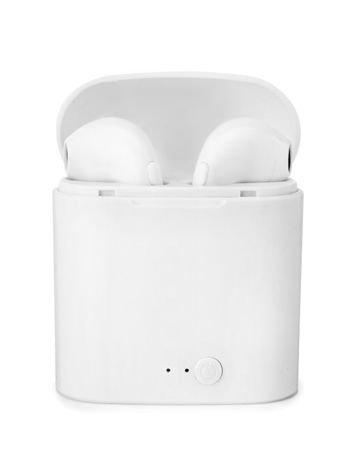RONEBERG R7 Słuchawki bezprzewodowe bluetooth z powerbankiem białe