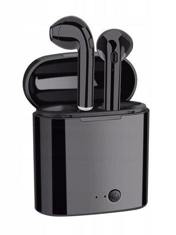 RONEBERG R7 Słuchawki bezprzewodowe bluetooth z powerbankiem czarne