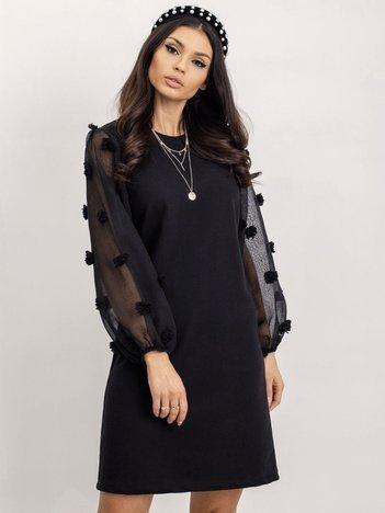 RUE PARIS Czarna sukienka Mary
