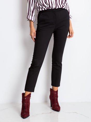 RUE PARIS Czarne spodnie Chic