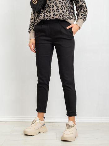 RUE PARIS Czarne spodnie Miley