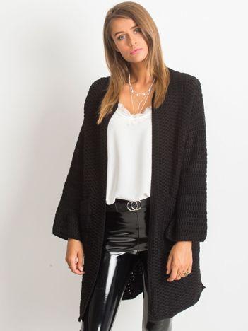 RUE PARIS Czarny sweter Luna