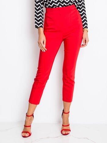 RUE PARIS Czerwone spodnie Apple