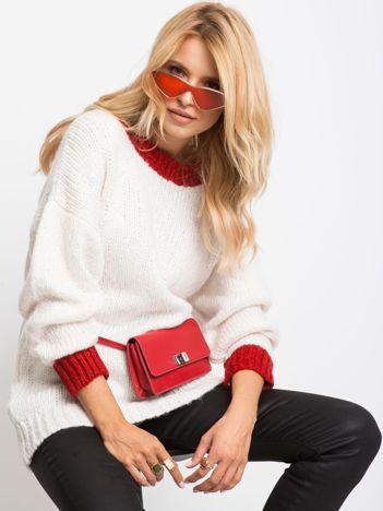 RUE PARIS Ecru sweter Pretty