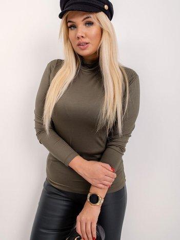 RUE PARIS Khaki bluzka plus size Brooke
