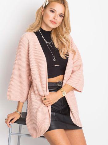 RUE PARIS Różowy sweter Spotlight