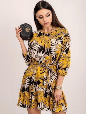 RUE PARIS Żółta sukienka Ernie