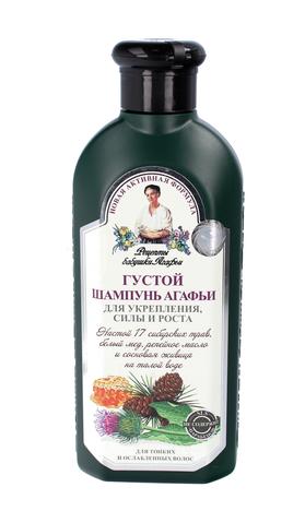 Receptury Babci Agafii Szampon ZIOŁOWY GĘSTY do włosów cienkich i osłabionych- wzmacniający, naturalny 350 ml