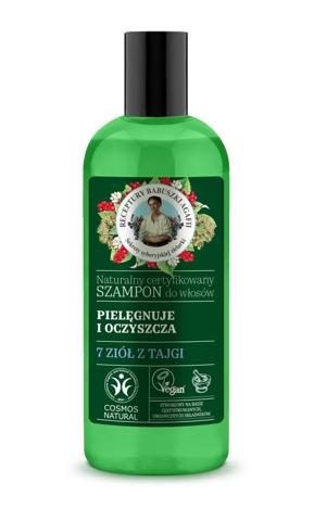 """Receptury Babuszki Agafii Naturalny Szampon oczyszczająco-pielęgnujący 260ml"""""""