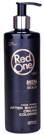 RedOne AFTER SHAVE CREAM COLOGNE GOLD 400 ML